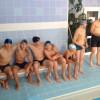Первая тренировка в бассейне
